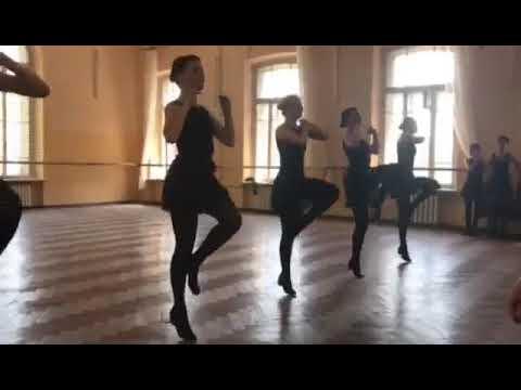Экзамен по народному танцу 1 курс