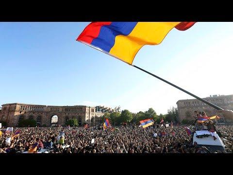 Ереван: марш оппозиции в День памяти | 24.04.18