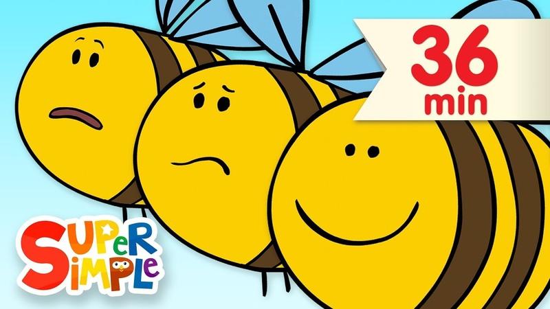 Here Is The Beehive | More Kids Songs | Super Simple Songs
