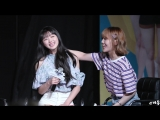 Fancam 180616 OH MY GIRL (Mimi&ampYooA focus) Sudden Attack With Oh My Girl Fanmeeting