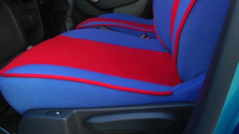 Авточехлы для Рено Сандеро Степвей 2 поколение ( 5S ). Установка авточехлов . Отзыв об авточехлах.