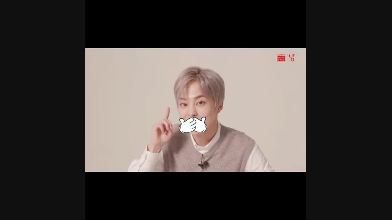181122 @ lottedutyfree instagram update et's play a telepathic game with Min Seok❓ Chicken or pizza, what will Xiumin pick?
