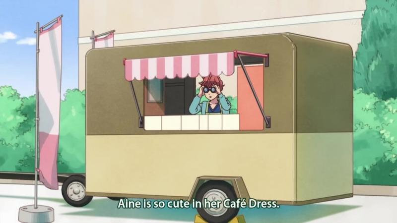 Aikatsu Friends Друзья Айкацу 12 серия english subbed