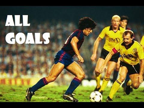 Maradona ● All goals for Barcelona