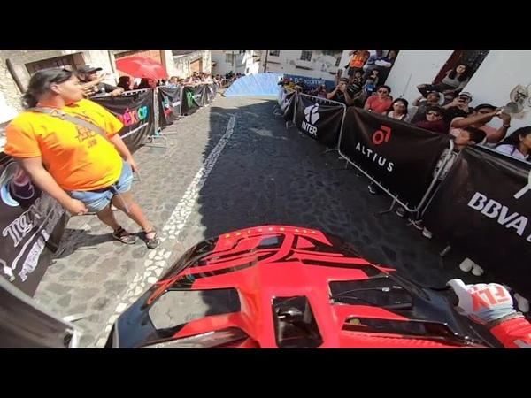 World's fastest Urban Downhill ? | Run 1 at Downhill Taxco