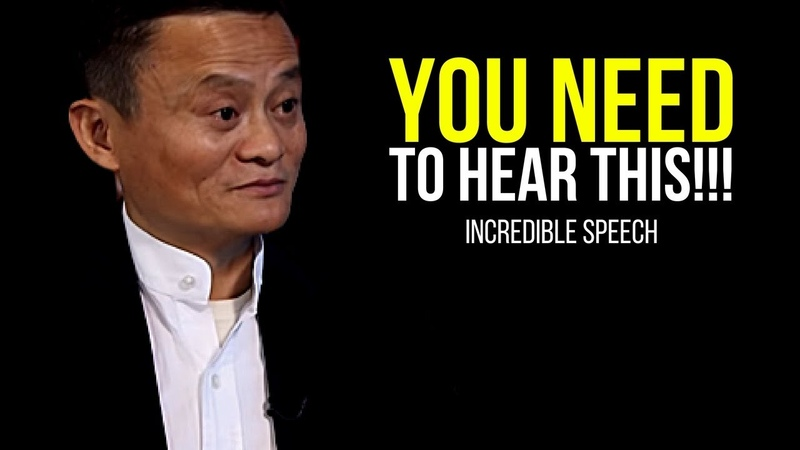 JACK MA: You Need To Hear This (INCREDIBLE SPEECH!)