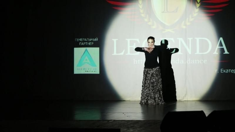Чемпионат России по танцам LEGENDA ГАЛА-ШОУ Соколова Светлана