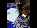 Ксения занимается русским языком