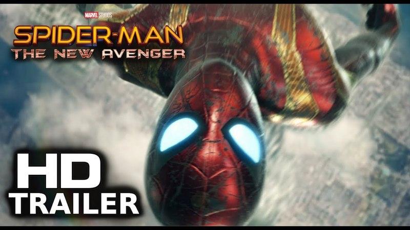 Spider-Man: The New Avenger (2019) Teaser Trailer - Tom Holland, Zendaya Sequel Concept [Fan Made]