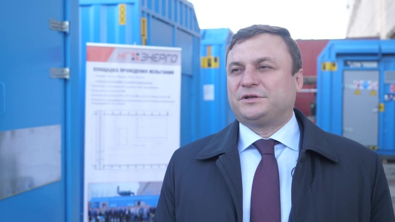 Генеральный директор «НГ-Энерго» Андрей Рудской рассказал о модульных электростанциях