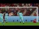 Милан - Барселона гол Абате / FIFA18
