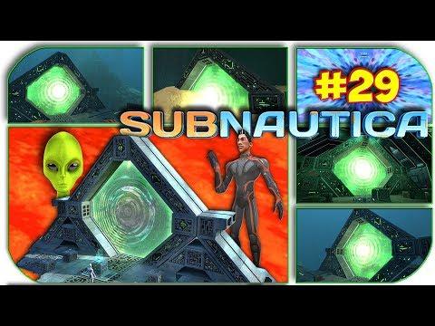 Subnautica - КУДА ВЕДУТ ВСЕ ТЕЛЕПОРТЫ ГЛАВНОЙ БАЗЫ ЛАВОВОГО БИОМА 29