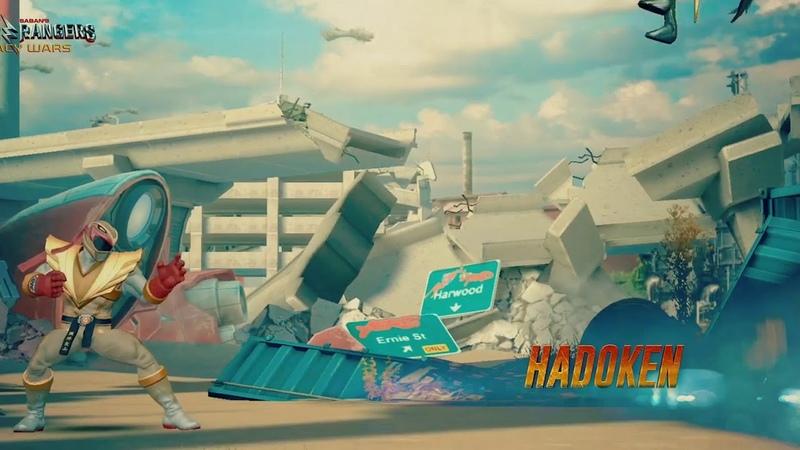 Power Rangers: Legacy Wars (Street Fighter) Ryu Ranger (Moveset)