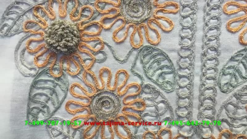 TAJIMA вышивка 6-ю видами шнуров ( MULTI CORDING DEVICE )