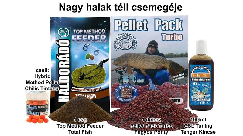Téli fogós receptek lehűlt vizekre 7. rész - Nagy halak téli csemegéje