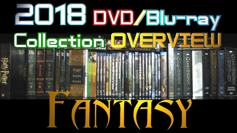 2018 DVD/Blu-ray Collection Overview 20 - Fantasy