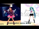 Копия танца вокалоида Мику Хатсуне • Hatsune Miku • Anime
