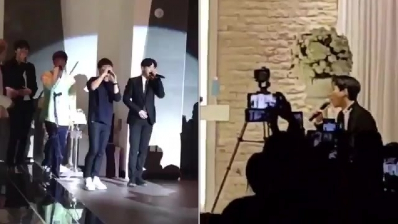 Sunggyu's sister's boohyun's - wedding vs wedding - - the sad glo up but y'all the potential .mp4