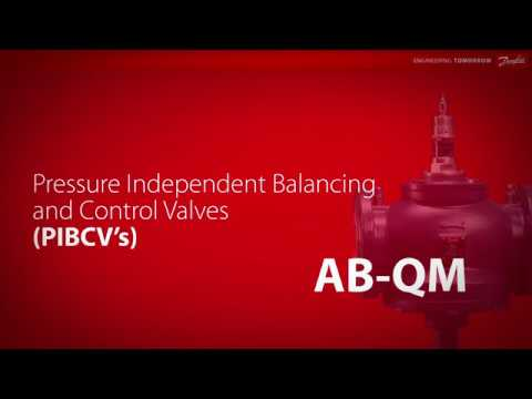 Pressure Independent Balancing and Control Valves (PIBCV's) – AB-QM