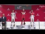 Победный подиум Никиты Мазепина (GP3, Барселона 2018)