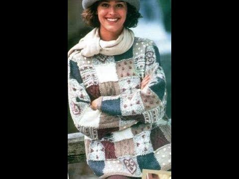 Оригинальный Свитер Спицами - 2019 Original Sweater Knitting