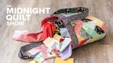 A QUILTED TOTE BAG Challenge with The Crafty Gemini! Midnight Quilt Show