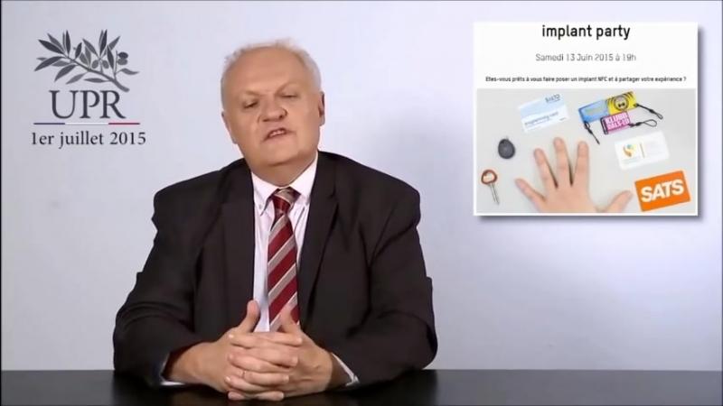 Francois Asselineau UPR interdit le pucage RFID des citoyens