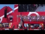 Черлидеры Самарской региональной Федерации черлидинга встретили Кубок FiFA в Самаре