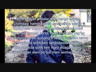 Ummon - Ana Endi Yig'la (Lyrics), Уммон - Ана Энди йигла (Текст песни).mp4