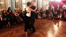 Sigrid and Murat in Hamburg. Class demo on Demare's music with syncopated walk