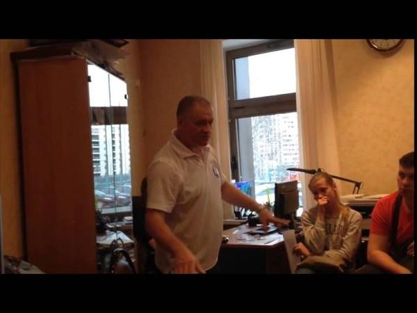 Мастер класс по плаванию с Постовым А И СШ 62 Москва 01 04 15 теория