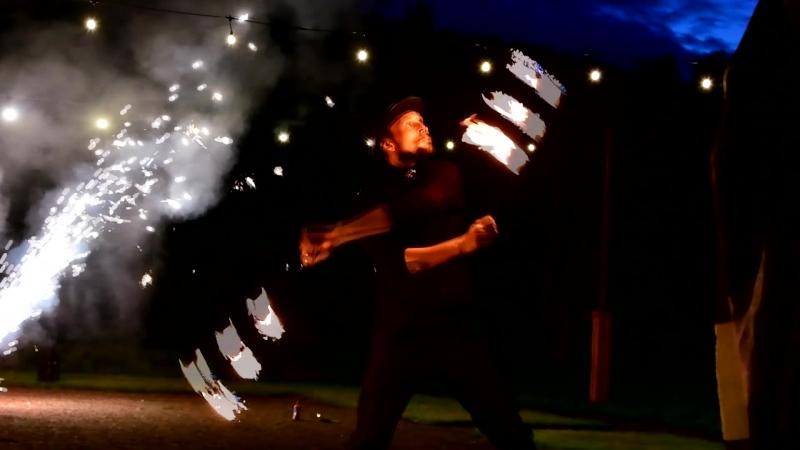 Огненное пиротехническое шоу ПРИЯ (огненное шоу Стандарт)
