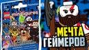 PS герои игр в LEGO минифигурках для детей kids children
