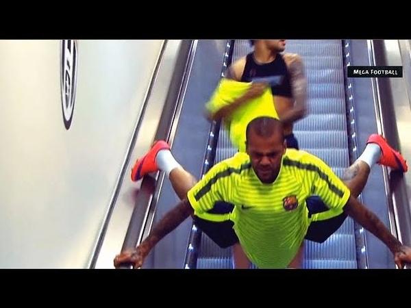 Funny Moments in Training ● Messi, Neymar, C Ronaldo, D Alves, Isco