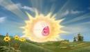 Screaming sun