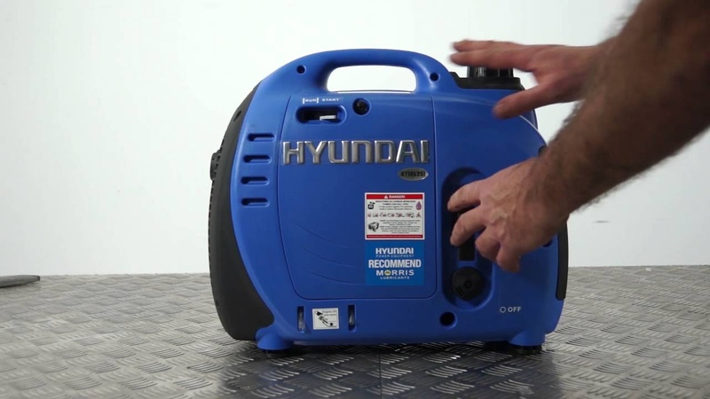 Hyundai 1000W Portable Petrol Inverter Generator HY1000Si Unboxing Assembly Guide