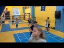 Детская тренировка в боксёрском клубе Живая сталь