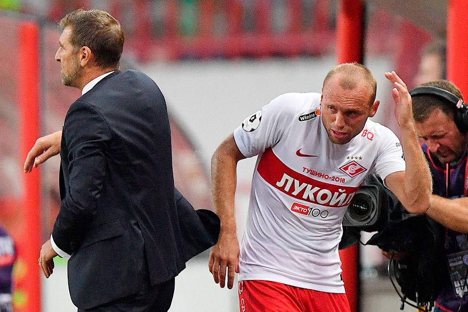 «Спартак»: о Глушакове, Ещенко, Каррере и слухах
