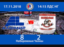 АЛЮМИРНабережные Челны-СОКОЛЫАзнакаево 82 Чемпионат НХЛ РТ Лига надежд