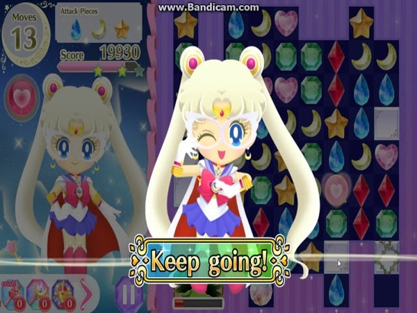 Sailor Moon Drops Sailor Moon (Complete Edition, Part 1 ver. ) 3 max Level Obtained!!