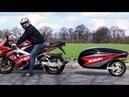 😲 Мотоциклы с ПРИЦЕПОМ 🚂 !