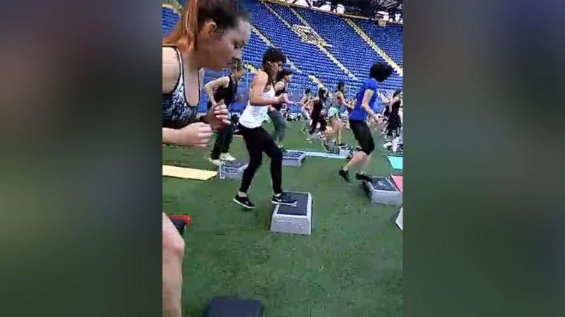 Фитнес - конвенция Стадион «Металлист»