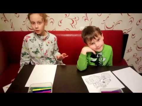 три маркера челлендж с Дианой и Игорем часть 1
