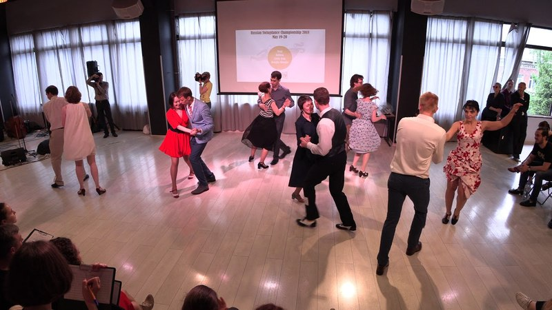 Balboa Newcomers Strictly Finals at Russian Swing Dance Championship 2018