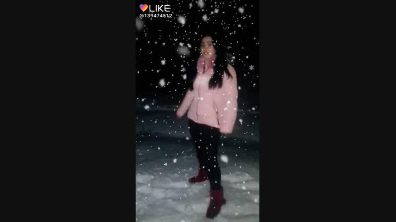 первый снег 😉