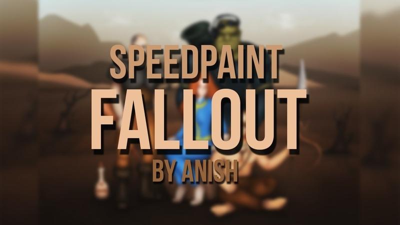 Fan art Fallout 2 / Фан арт по Фоллаут 2 / Speedpaint / Спидпейнт (Урезанный)