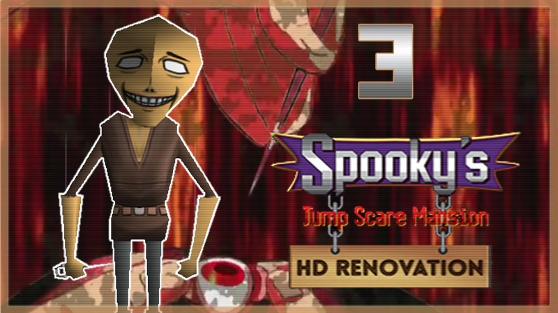 УБЕРИ ШИЛО ОТ МОЕГО ГЛАЗА ● Spooky's Jump Scare Mansion HD Renovation 3
