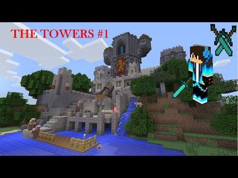 THE TOWERS!!В МАЙНКРАФТ 1