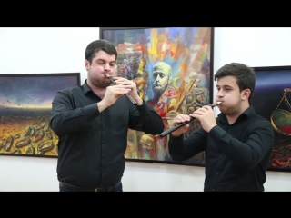 Играет Davit Sahakyan, дам дудук Гагик Акопян (Gagik Hakobyan)