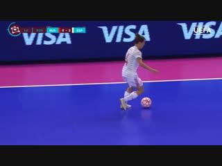 Uefa womens futsal euro semi-final highlights_ russia 0-5 spain
